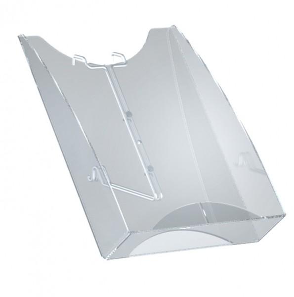Prospektfach DIN A4 für TecArt Prospektbodenständer