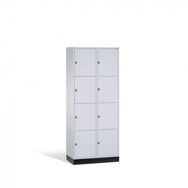 Schließfachschrank Intro, 8 Fächer, 195x82x50cm