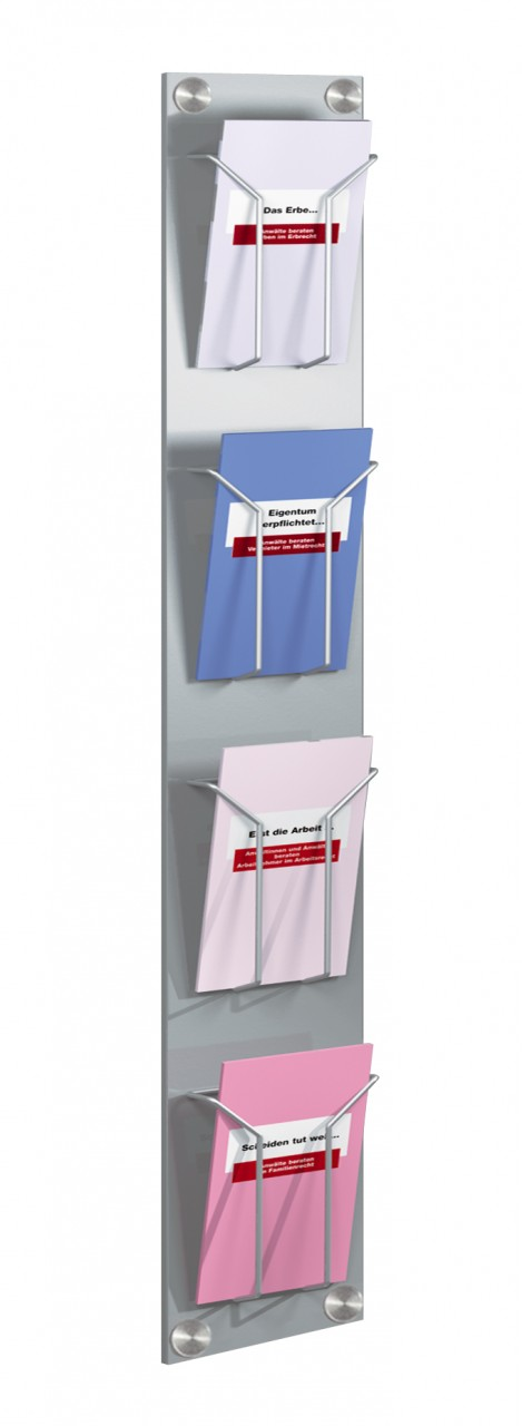 Kerkmann 6196 Wand-Prospekthalter artline, DIN lang