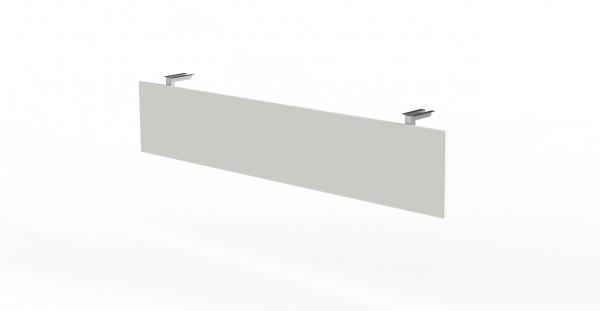 Knieraumblende für Schreibtische mit Breiten 160/180cm, Weiß