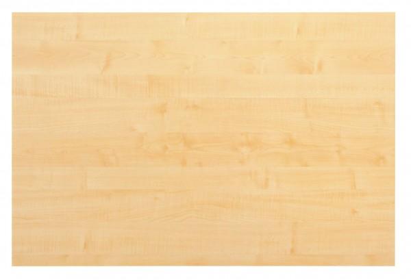 Tischplatte 120x80cm mit Systembohrung für Stützfuß