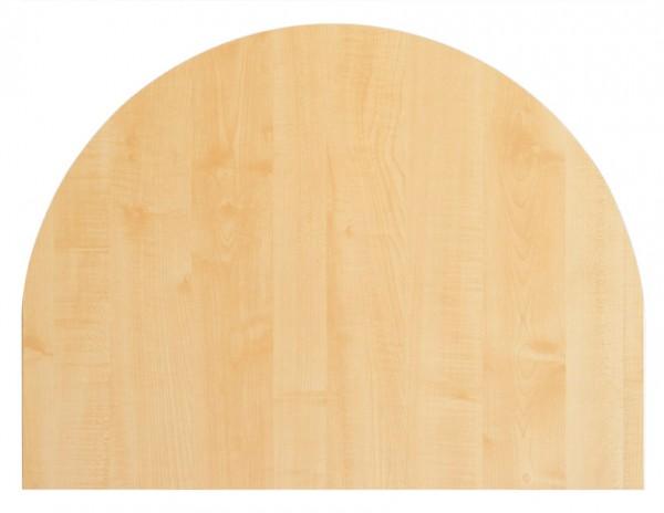 Tischplatte 60x80cm mit Systembohrung für Stützfuß