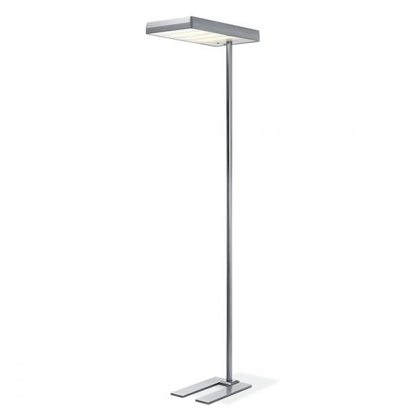 LED Stehleuchte Aluminium, H 190 cm