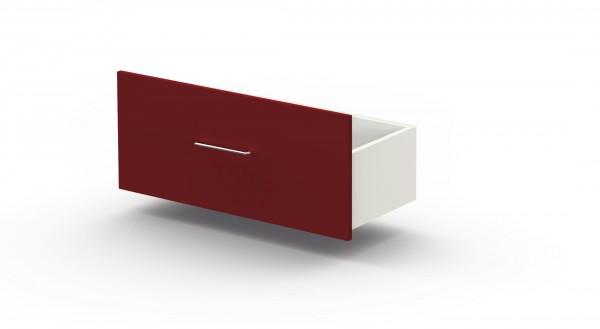 Kerkmann Schublade für Regale rot Artline, 75x34cm