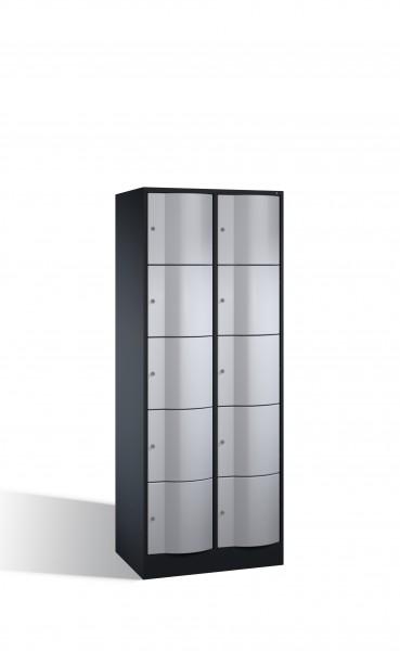 Schließfachschrank Resisto, 10 Fächer, 195x77x54cm