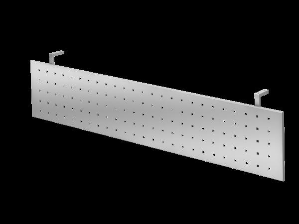 Sichtblende H=40cm 180cm, Silber