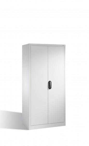 Aktenschrank Acurado mit Drehtüren, innen 6 Pendelstangen, H1950xB93x50cm