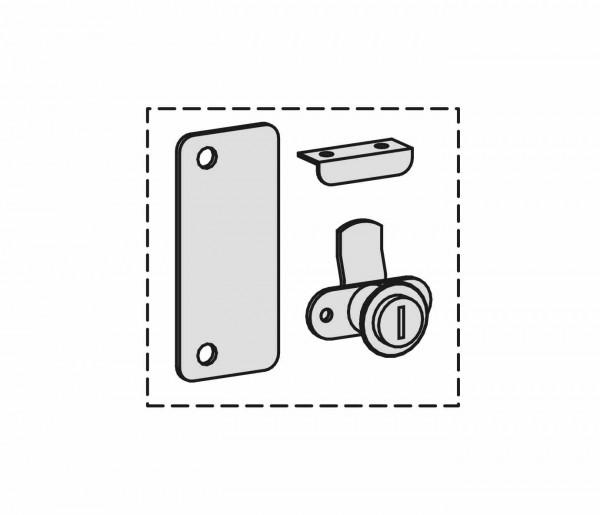 Schranksystem Flex Nachrüstschloss für Flügeltürenschränke