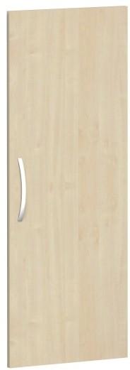 Flügeltür für Korpusbreite 40 cm, 3 OH, Ahorn