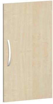 Flügeltür für Korpusbreite 40 cm, 2 OH, Ahorn