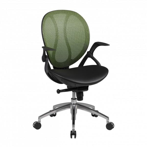 SHAPE 1 Bürostuhl, Schreibtischstuhl, Kunstleder Grün