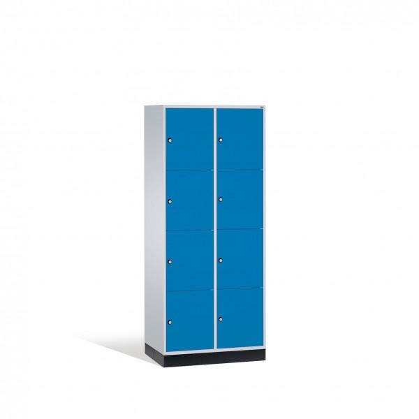 Schließfachschrank Intro XL, 8 Fächer, 195x82x60cm
