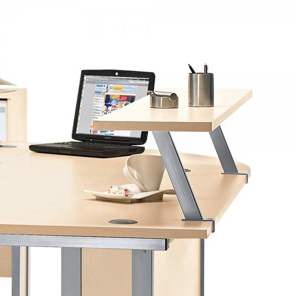 Zweite Ebene für Schreibtisch MULTI M, 160x29x25,5 cm