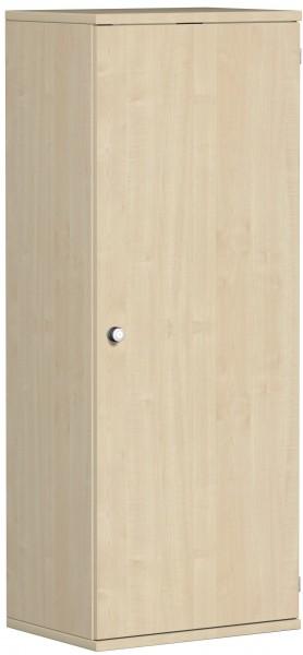 Garderobenschrank mit ausziehbarem Garderobenhalter, 60x42x154cm, Ahorn