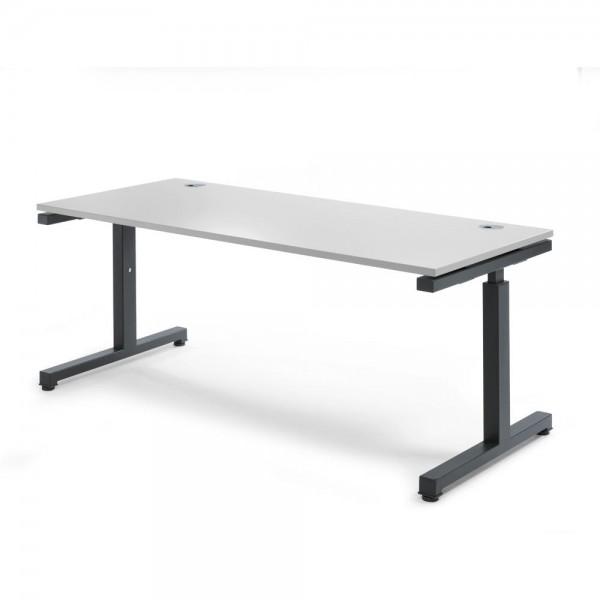 Schreibtisch Rechteck Comfort MULTI 2.0 180x80x68-82 cm