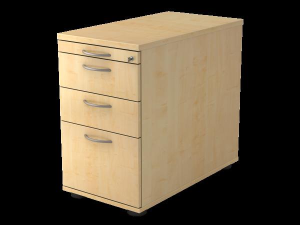 Standcontainer 2 Schübe Hängegegistratur 42,8 x 80 x 72 - 76 cm