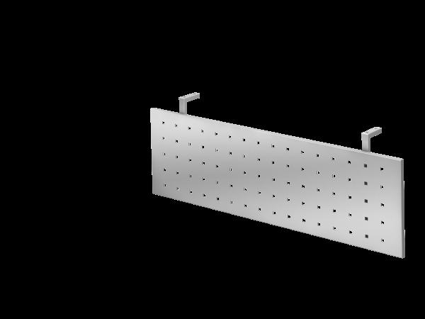 Sichtblende H=40cm 120cm, Silber