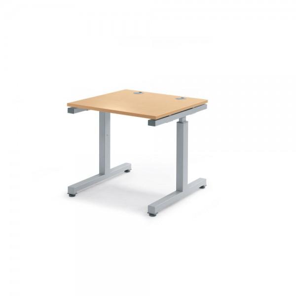 Schreibtisch Rechteck Comfort MULTI 2.0 80x80x68-82 cm
