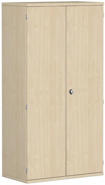 Garderobenschrank mit ausziehbarem Garderobenhalter, 80x42x154cm, Ahorn