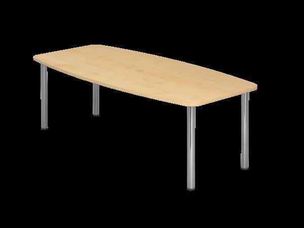 Konferenztisch 4-Fuß 220 x 105 cm