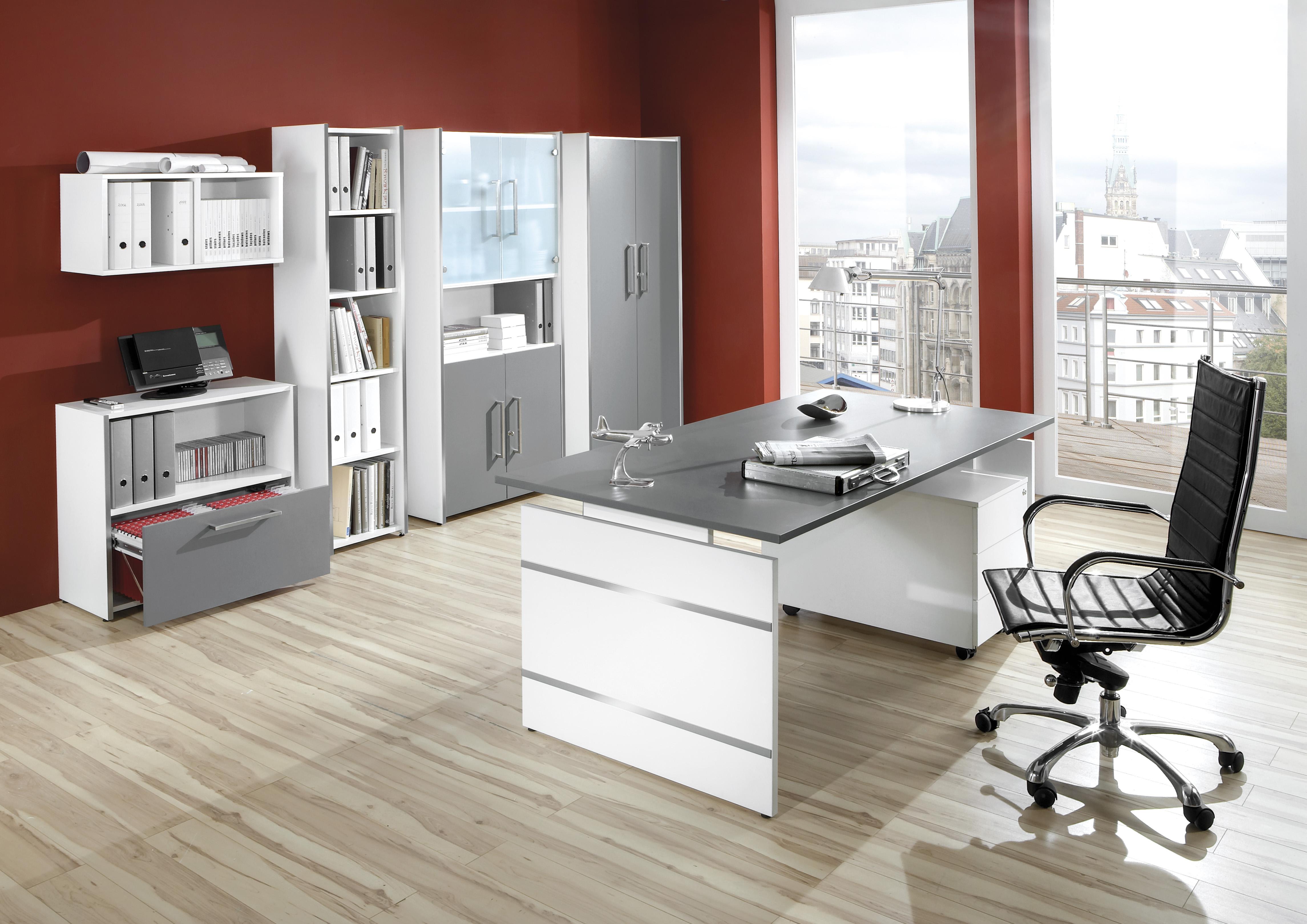 Moderne büromöbel weiss  Büromöbelprogramm Form 4 - modern & vielfältig | 123bueromoebel.de ...