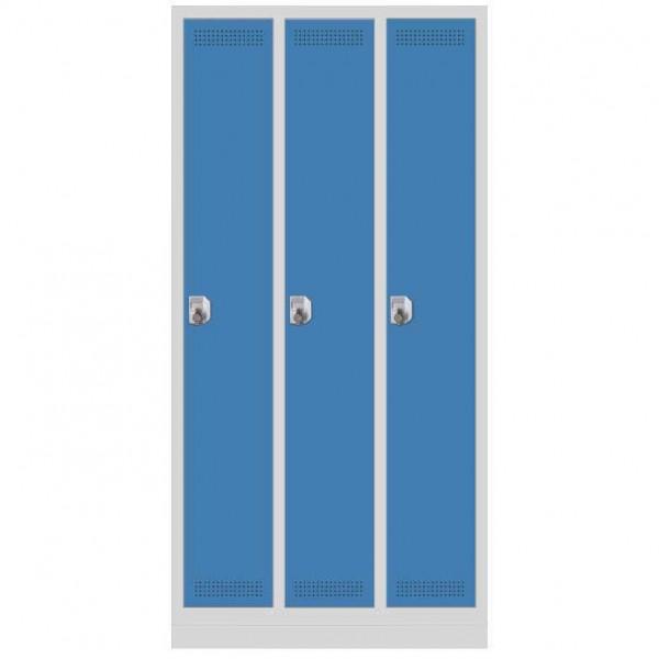Garderoben-Stahlspind SP PROFI 87x180x50 cm
