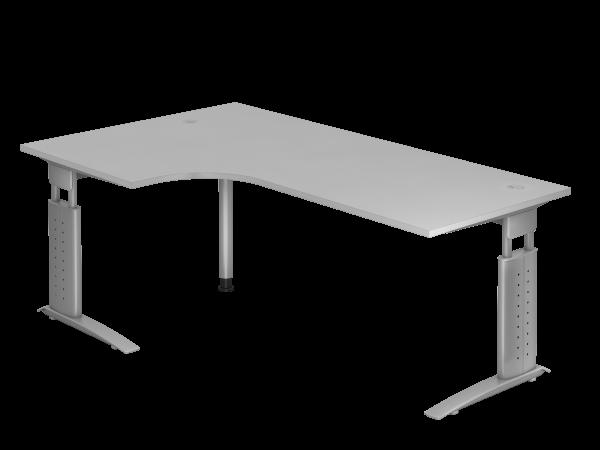 Winkeltisch 90° C-Gestell 200 x 120 cm