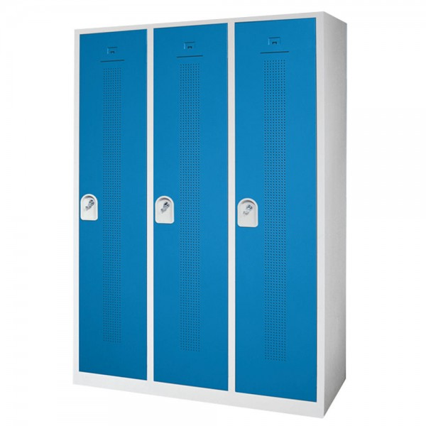 Garderoben-/Stahlspind SP4 118,5x180x50 cm