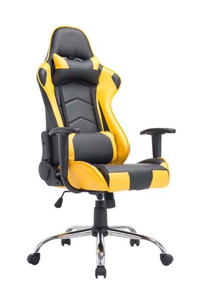 Bürostuhl Miracle, schwarz/gelb