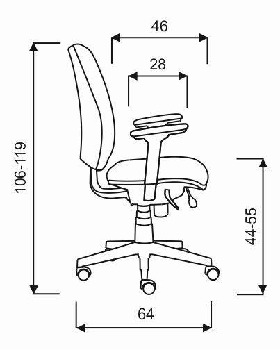 Technische-Zeichnung-SDS1-Drehstuhl-Solid-bem