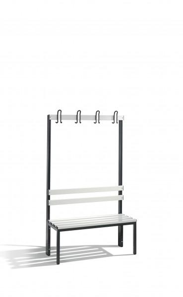 Garderobenbank Basic, 165x100x40cm