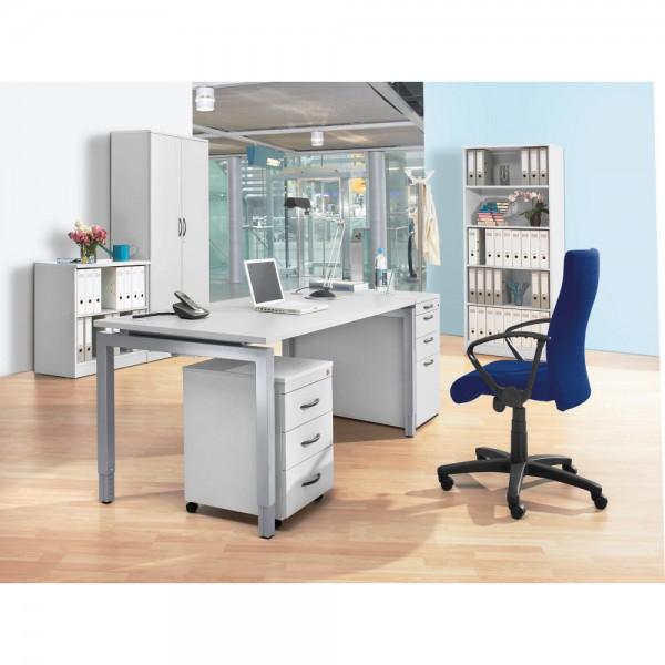 Schreibtisch 4-Fuß Comfort MULTI M 160 x 80 x 62-82 cm