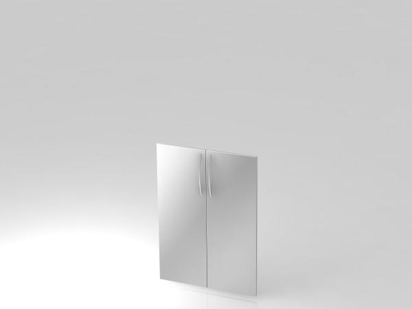 Paar Türen,3 OH, BM, Silber
