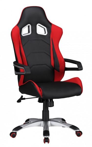 SPEED Bürostuhl, Schreibtischstuhl, Chefsessel, Rot
