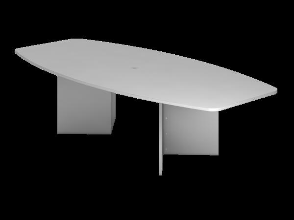 Konferenztisch Holzgestell 280 x 130 cm