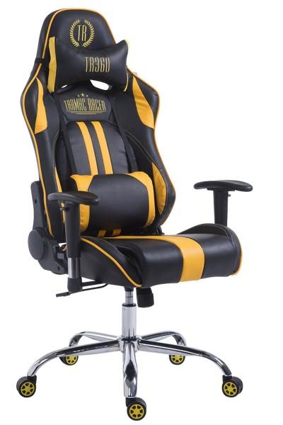 Racing Bürostuhl Limit, schwarz/gelb