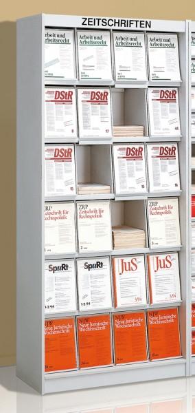 Zeitschriftenschränke Media 24 Fächer