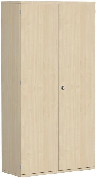 Garderobenschrank mit ausziehbarem Garderobenhalter, 100x42x192cm, Ahorn